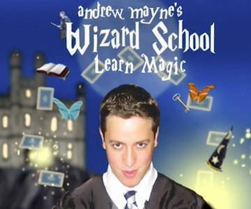 Wizard School | | andrew mayne {magic}