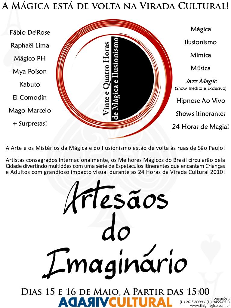 Artesãos do Imaginário Virada Cultural 2010