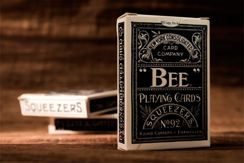 Top Deck Cards:  Bee Erdnaseum Commemorative Squeezers Playing Cards